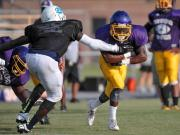 Football: Tarboro holds football jamboree (Aug. 15, 2014)