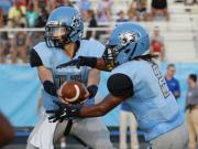 Football: Wake Forest vs. Panther Creek (Aug. 22, 2014)