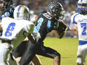 Football: Cleveland 56; Clayton 53 (August 22, 2014)