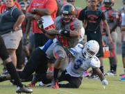 Football: Capitol Christian (MD) vs. Southern Durham (Aug. 23, 2014)
