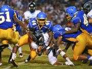 Football: Cleveland vs. Garner (Aug. 28, 2014)