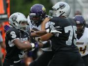 Football: Carrboro vs. East Chapel Hill (Aug. 29, 2014)