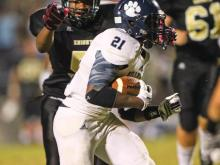 The Millbrook Wildcats took down the Knightdale Knights Friday night, 30-7.