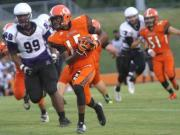 Football: Riverside vs. Orange (Sept. 5, 2014)
