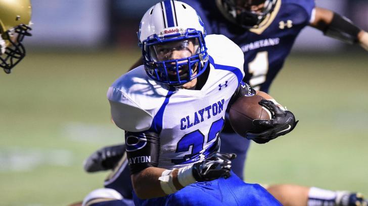 Clayton High School at Smithfield-Selma High School - September