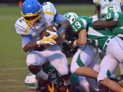 Football: Garner vs. Cary (Sept. 12, 2014)