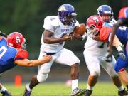 Football: Holly Springs vs. Sanderson (Sept. 12, 2014)