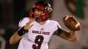 Football: Middle Creek vs. Green Hope (Oct. 3, 2014)