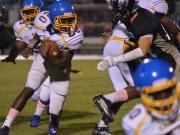 Football: Garner vs. West Johnston (Oct. 3, 2014)