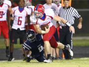 Football: Sanderson vs. Heritage (Oct. 3, 2014)