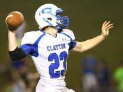 Football: Clayton vs. Garner (Oct. 10, 2014)