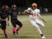 Football: Orange vs. Cedar Ridge (Oct. 10, 2014)