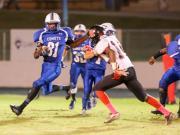 Football: Rolesville vs. Clayton (Oct. 17, 2014)
