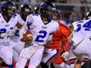 Football: Hunt vs. Southern Nash (Oct. 24, 2014)