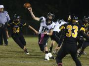 Football: Cardinal Gibbons vs. Chapel Hill (Oct. 24, 2014)