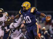 Football: E.E. Smith vs. Cape Fear (Oct. 24, 2014)