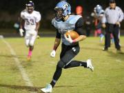 Football: Holly Springs vs. Panther Creek (Oct. 30, 2014)