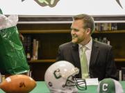 Cary introduces Mike Kirst as new football coach