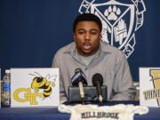 Marcus Marshall commits to Georgia Tech (Jan. 27, 2015)