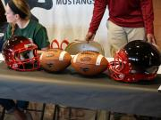 Middle Creek athletes sign with colleges (Feb. 4, 2015)