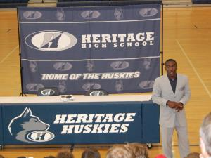 Dewayne Washington, Heritage football coach