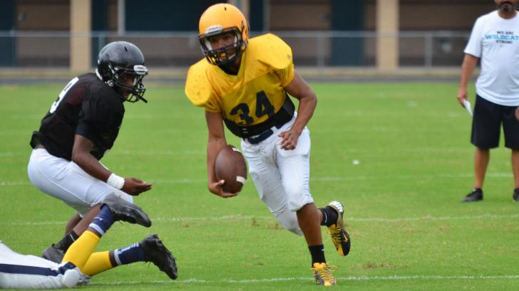 Football: West Johnston Jamboree (Aug. 11, 2015)