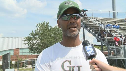 Dixon discusses Green Hope's performance against Lee County