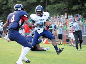 Football: Leesville Road vs Jordan (Aug. 21, 2015)