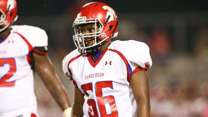 Football: Sanderson vs. Apex (Sept. 3, 2015)