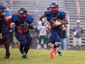 Football: Bunn vs. Southern Nash (Sept. 3, 2015)