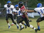 Football: Fayetteville Christian vs. Trinity Christian (Sept. 11, 2015)