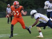 Football: Orange vs. Cummings (Sept. 11, 2015)