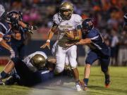 Football: Pinecrest vs. Southern Lee (Sept. 18, 2015)