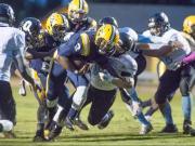 Football: Overhills vs. Cape Fear (Oct. 1, 2015)