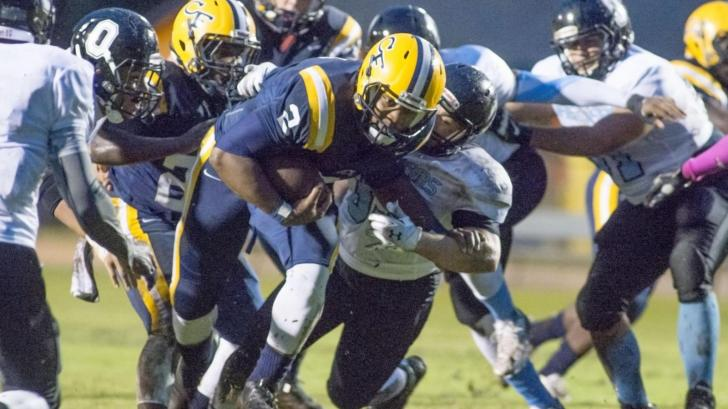 Football: Overhills vs. Cape Fear (Oct. 1, 2015)