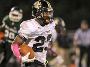 Football: Knightdale vs. Southeast Raleigh(Oct 9,  2015)