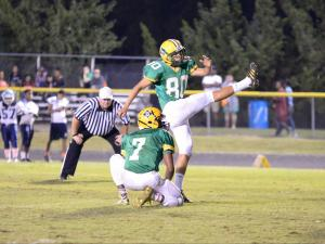 Football: Southern Vance vs Bunn (Oct. 9, 2015)