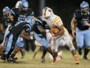 Football: Fuquay-Varina vs. Panther Creek (Oct. 30, 2015)