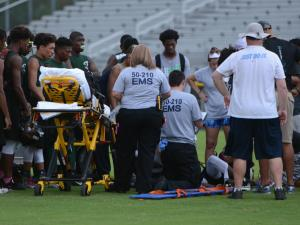 E.J. Clemons injury (June 29, 2016)
