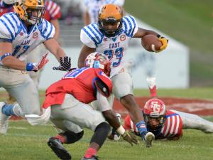 Football: East-West All-Star Game (July 20, 2016)