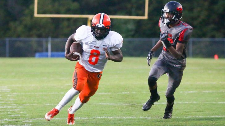 Football: Orange vs. Southern Durham (Sept. 23, 2016)