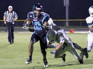 Football: Southeast Raleigh vs West Johnston (Sept. 23, 2016)