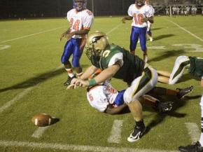 First Football Friday: Louisburg at Ravenscroft (6)