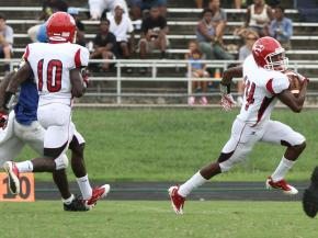 Garner hosts Southern Durham during the HighSchoolOT.com 2012 Football Jamboree
