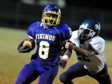 See photos of area players selected to the 2013 N.C. Coaches Association East-West All-Star Football Game.