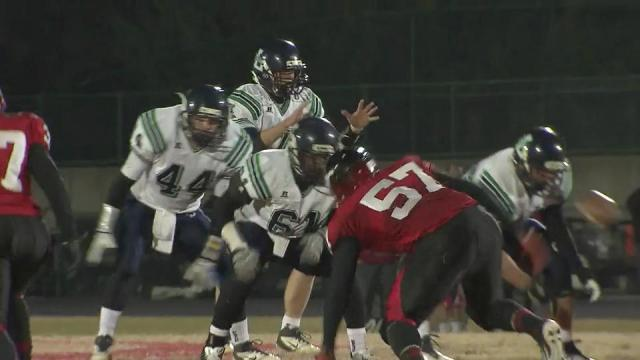 Holliday: Leesville vs. Middle Creek (Nov. 9, 2012)
