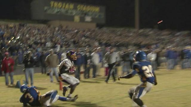 Garner vs. Jack Britt (Nov. 23, 2012)