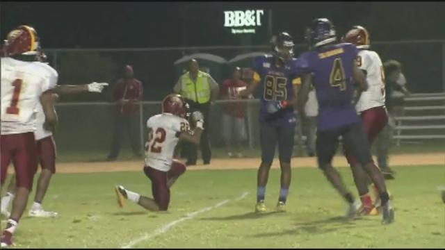 Douglass Byrd vs. Jack Britt (Sept. 6, 2013)