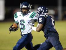 Leesville High School loses to Heritage High School with a score of 7 to 30.