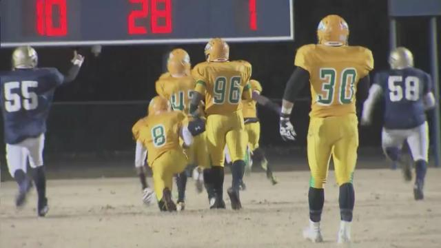 Highlights: Eastern Alamance vs. Eastern Wayne (Nov. 29, 2013)